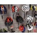 Soportes Lama Para Cascos de bicicleta y moto cromado
